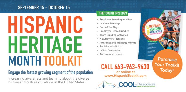 your hispanic heritage tribute begins here hispanic toolkit